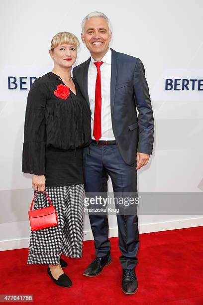 Andreas von Thien and Alexandra von Thien attend the Bertelsmann Summer Party on June 18 2015 in Berlin Germany