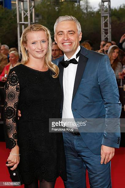Andreas von Thien and Alexandra von Thien attend the German TV Award 2012 at Coloneum on October 2 2012 in Cologne Germany