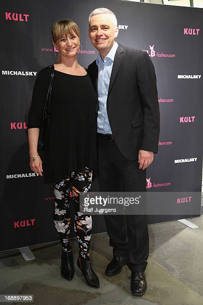 Andreas von Thien and his wife Alexandra attend the 'ELB by KULT' Store Opening on May 16 2013 in Cologne Germany