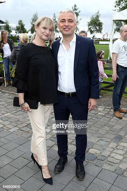 Andreas von Thien and his wife Alexandra von Thien attend the media night of the CHIO 2016 on July 12 2016 in Aachen Germany