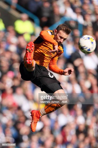 Andreas Weimann of Wolverhampton Wanderers during the Sky Bet Championship match between Leeds United and Wolverhampton Wanderers at Elland Road on...