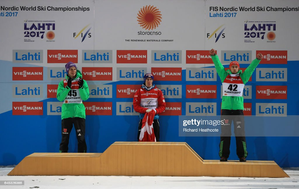 FIS Nordic World Ski Championships - Men's Ski Jumping HS100 : News Photo