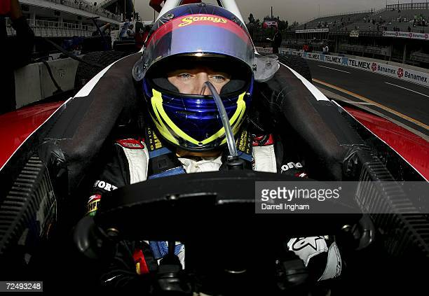 Andreas Wirth driver of the Dale Coyne Racing Lola Cosworth drives during practice for the Champ Car World Series Gran Premio Telmex at the Autodromo...