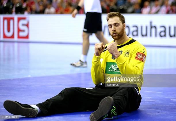 Andreas WOLFF Torwart Deutschland 12th Men's European Handball Championship Finale : Deutschland vs Spanien EHF EURO 2016 final match : Germany vs...
