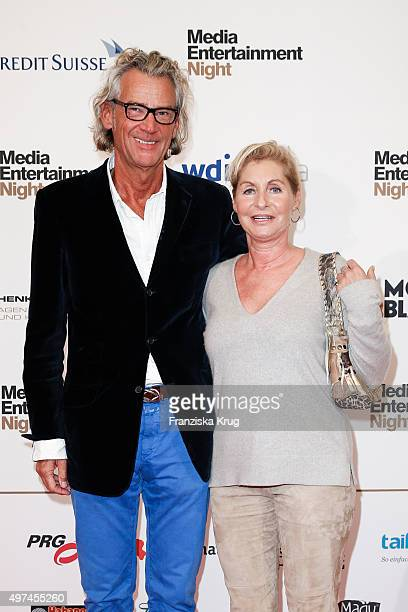 Andreas Wrede and guest attend the Media Entertainment Night 2015 on November 16 2015 in Hamburg Germany