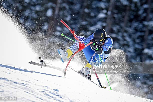 Andreas Zampa of Slovakia competes during the Audi FIS Alpine Ski World Cup Men's Giant Slalom on December 06 2015 in Beaver Creek Colorado