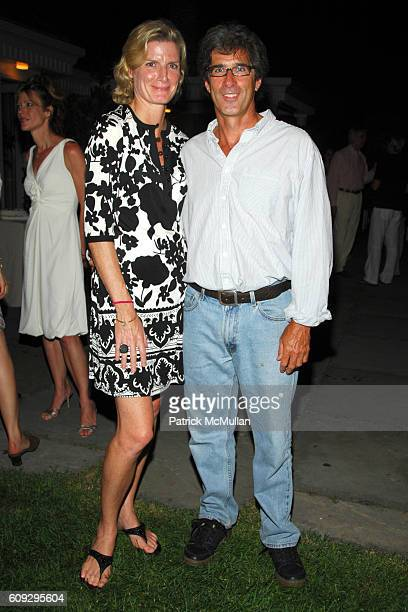 Andree Corroon and Stephen Mahoney attend THE CINEMA SOCIETY THE WALL STREET JOURNAL host the After Party for BECOMING JANE at Private Residence on...