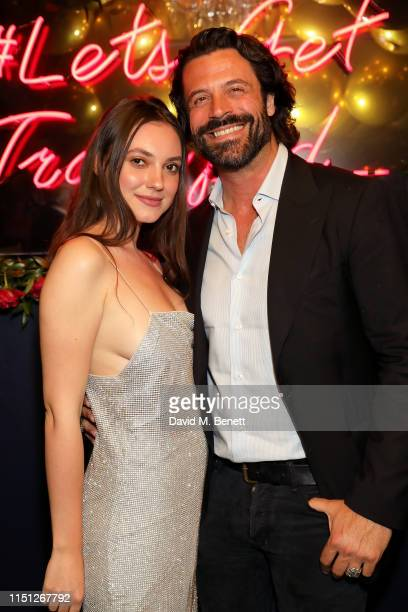 Andreea Cristea and Christian Vit attend the 50th Anniversary of Tramp on May 23 2019 in London England
