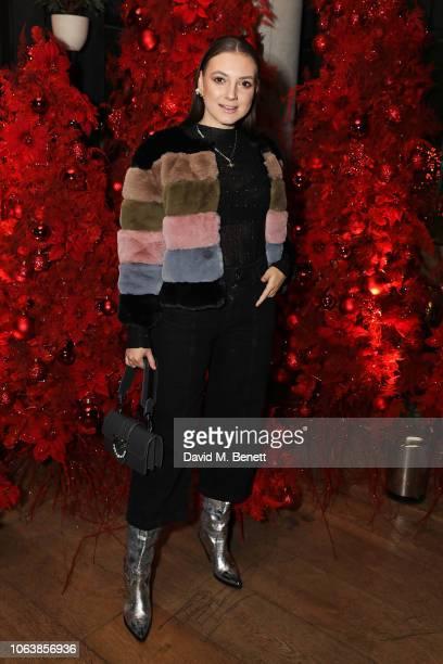Andreea Cristea at Fucina's Festa Italiana on November 20 2018 in London England
