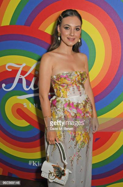 Andreea Cristea attends Kiehl's 'We Are Proud' party to celebrate Pride on July 5 2018 in London England