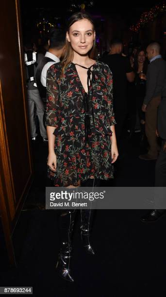 Andreea Cristea attends Ollie Chambers Antoin Commane's annual themed party at Tramp on November 24 2017 in London England