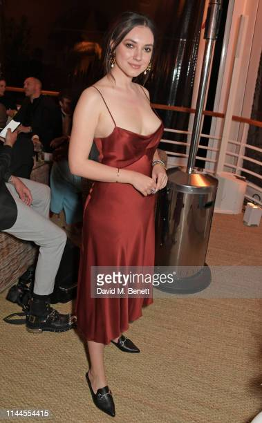 Andreea Cristea attends the 10th Annual Filmmakers Dinner hosted by Charles Finch Edward Enninful and Michael Kors at the Hotel du CapEdenRoc on May...