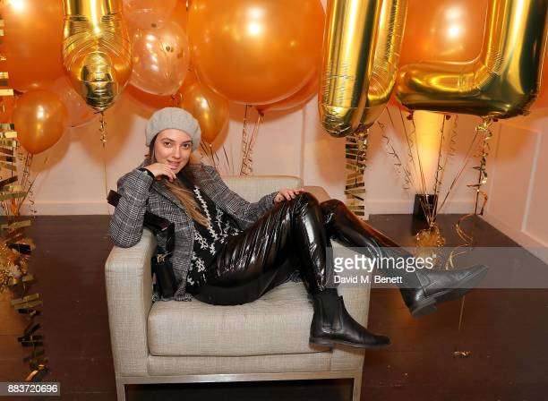 Andreea Cristea attends the exclusive press preview launch of global supermarket brand Lidl's second Esmara by Heidi Klum collection on December 1...