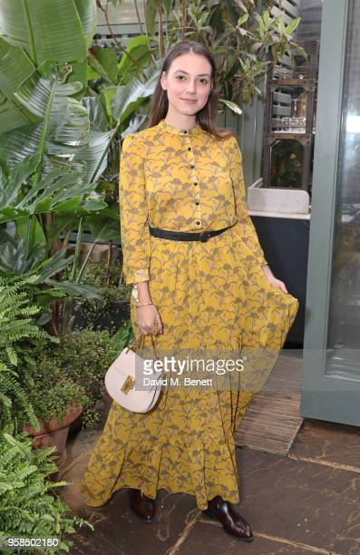 Andreea Cristea attends The Ivy Chelsea Garden Annual Summer Party on May 14 2018 in London England