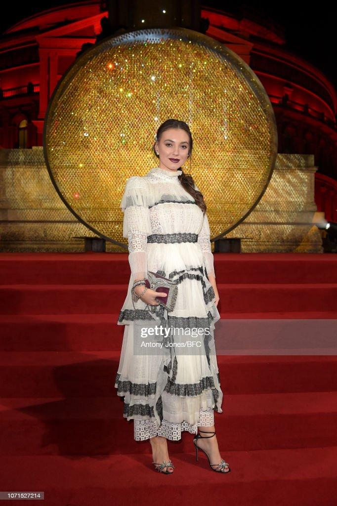 The Fashion Awards 2018 In Partnership With Swarovski - Swarovski Prologue : News Photo