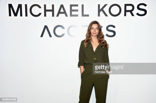 Andreea Diaconu attends Michael Kors and Google Celebrate new MICHAEL KORS ACCESS Smartwatches at ArtBeam on September 13 2017 in New York City