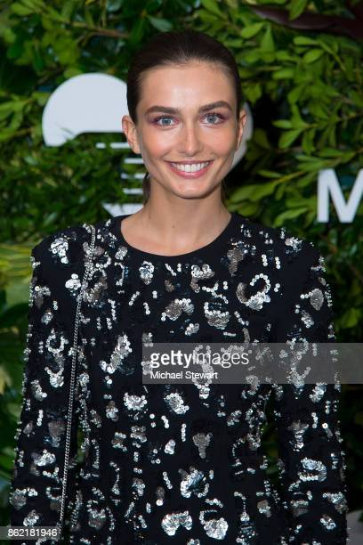 Andreea Diaconu attends the 11th Annual God's Love We Deliver Golden Heart Awards at Spring Studios on October 16 2017 in New York City
