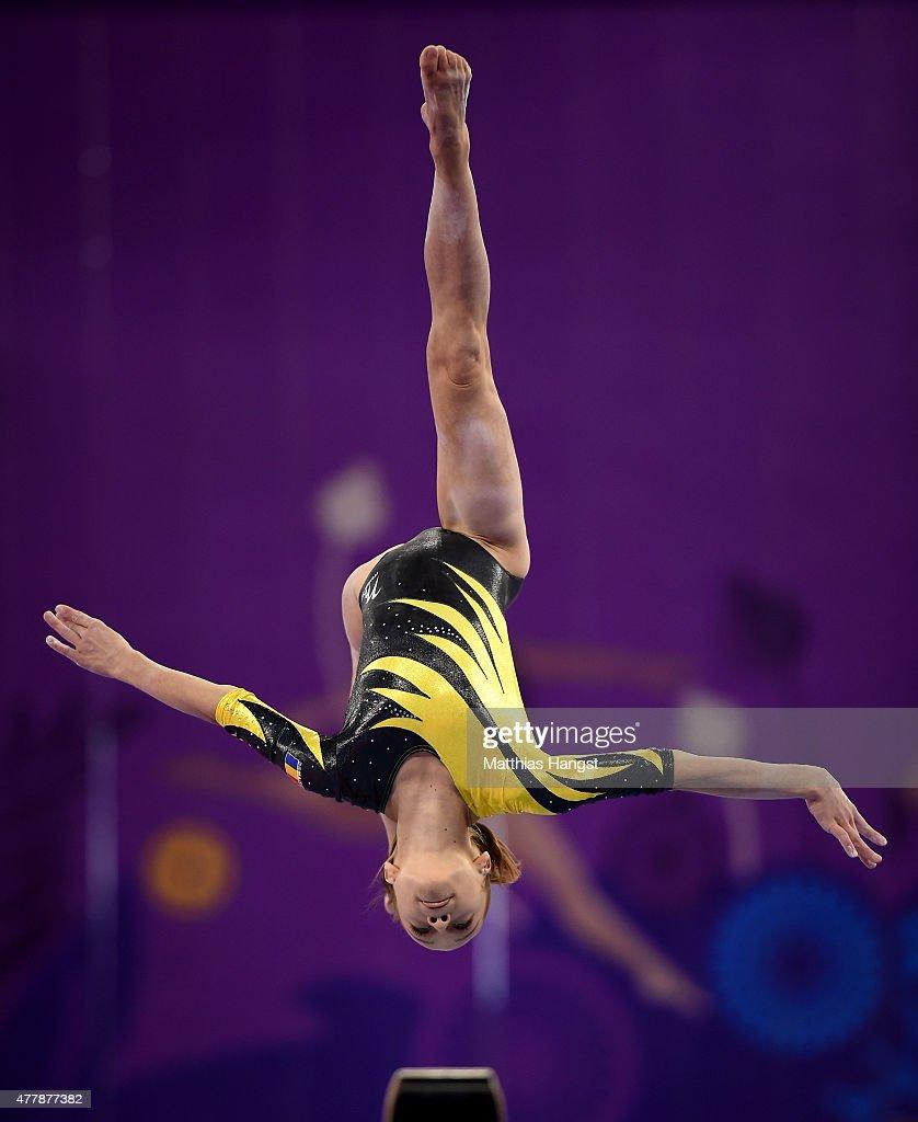 Artistic Gymnastics - Day 8: Baku 2015 - 1st European Games : Nachrichtenfoto