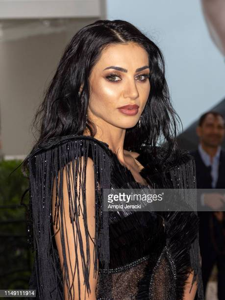 Andreea Sasu is seen during the 72nd annual Cannes Film Festival at on May 14 2019 in Cannes France