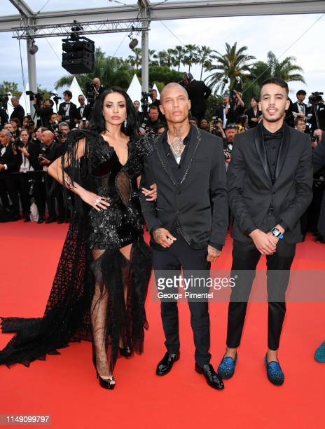 R Andreea Sasu Jeremy Meeks and Adam Abaida Atarshi attend the opening ceremony and screening of The Dead Don't Die during the 72nd annual Cannes...