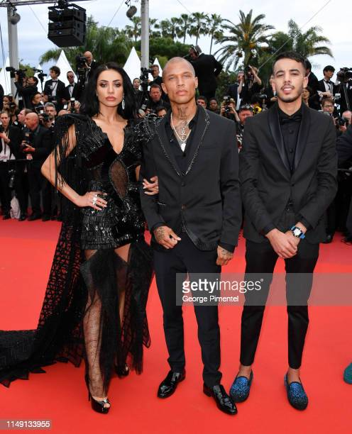 """Andreea Sasu, Jeremy Meeks and Adam Abaida Atarshi attend the opening ceremony and screening of """"The Dead Don't Die"""" during the 72nd annual Cannes..."""