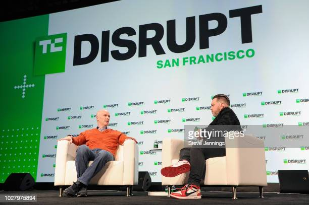 Andreessen Horowitz Cofounder and General Partner Ben Horowitz and moderator Matthew Panzarino speak onstage during Day 2 of TechCrunch Disrupt SF...