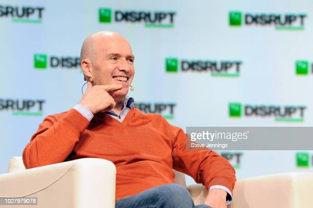 Andreessen Horowitz Cofounder and General Partner Ben Horowitz speaks onstage during Day 2 of TechCrunch Disrupt SF 2018 at Moscone Center on...
