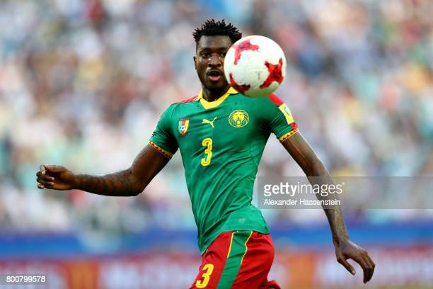 AndreFrank Zambo Anguissa of Cameroon runs with the ball during the FIFA Confederations Cup Russia 2017 Group B match between Germany and Cameroon at...