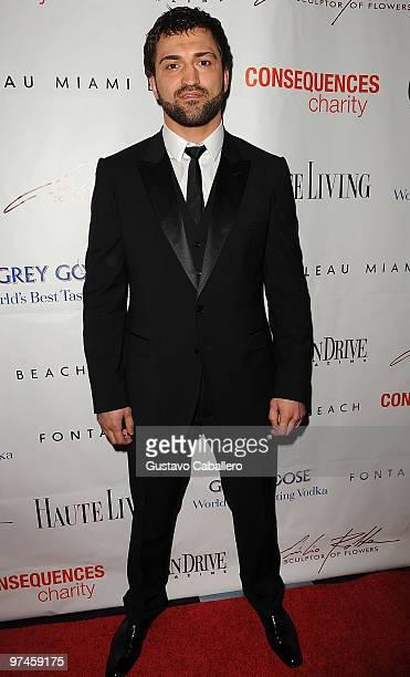 Andrei Arlovski attends the 15th Annual Blacks' Charity Gala at Fontainebleau Miami Beach on February 27, 2010 in Miami Beach, Florida.