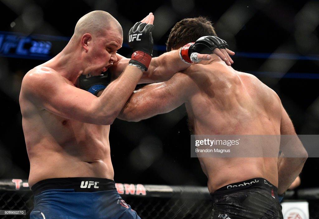 UFC 222: Struve v Arlovski : News Photo