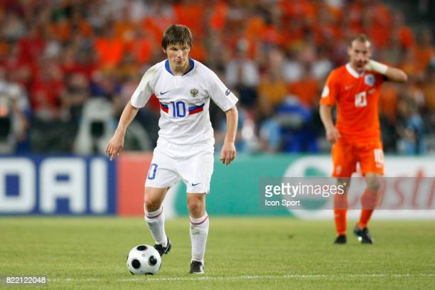 Andrei ARSHAVIN PaysBas / Russie 1/4 finale Euro 2008 Bale suisse et Autriche