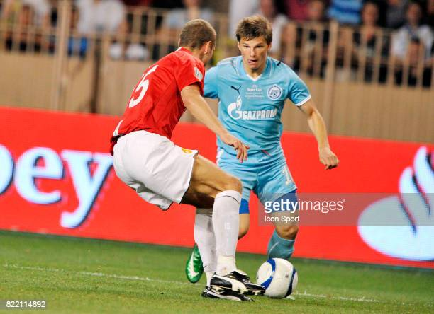 Andrei ARSHAVIN Manchester United / Zenith Saint Petersbourg SuperCoupe d Europe Monaco
