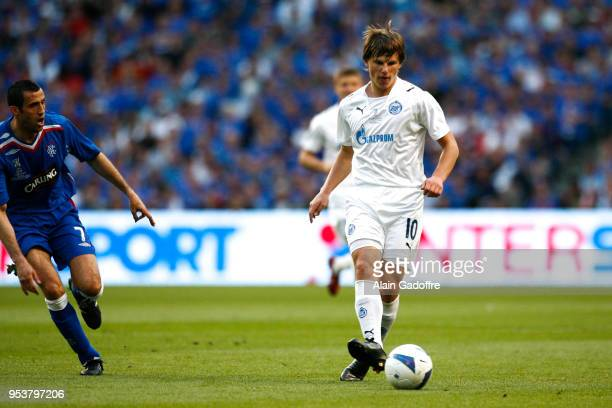 Andrei Arshavin of Zenit during the UEFA Cup Final match between Zenit Saint Petersburg and Rangers at City of Manchester Stadium Manchester United...