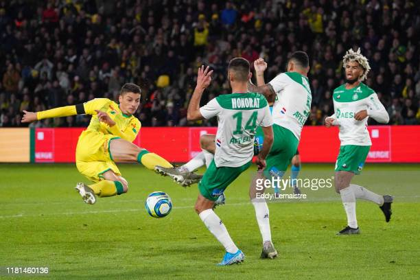 Andrei GIROTTO of Nantes during the Ligue 1 match between Nantes and Saint Etienne at Stade de la Beaujoire on November 10 2019 in Nantes France