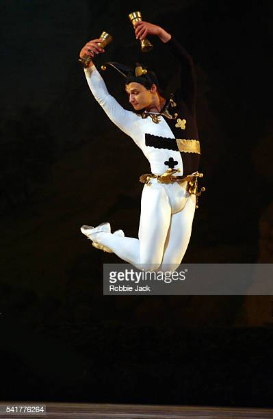 Andrei Ivanov in the Kirov Ballet's production 'Swan Lake' at the Royal Opera House in Covent Garden