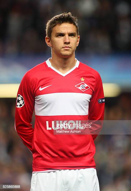 Andrei Ivanov of Spartak Moscow