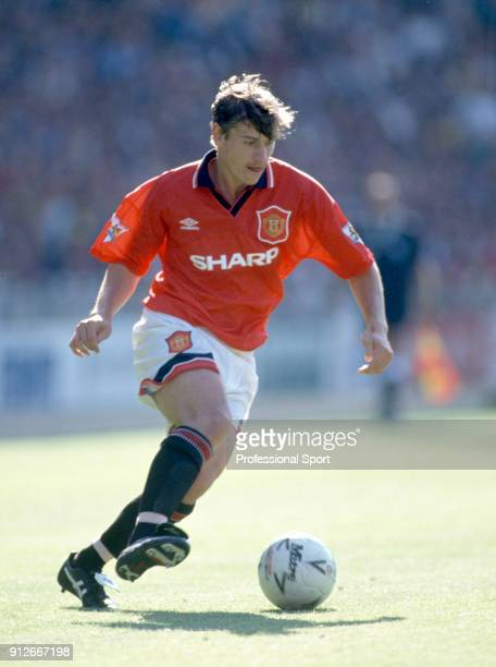 Andrei Kanchelskis of Manchester United in action circa 1994