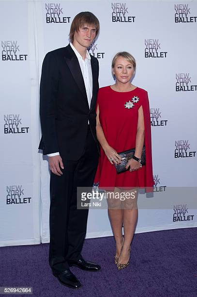 "Andrei Kirilenko attends the ""Metropolitan Ballet 2014 Fall Gala"" at the David H. Koch Theater at Lincoln Center in New York City. �� LAN"
