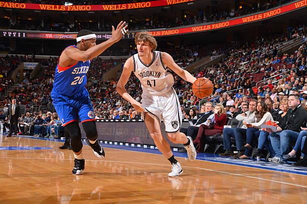 Andrei Kirilenko of the Brooklyn Nets