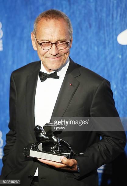Andrei Konchalovsky attends the award winners photocall during the 73rd Venice Film Festival at Palazzo del Casino on September 10 2016 in Venice...