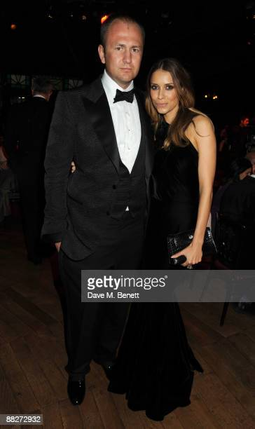 Andrei Melnichenko and wife Aleksandra attend the Raisa Gorbachev Foundation Annual Fundraising Gala Dinner at the Stud House Hampton Court Palace on...