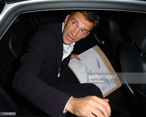 Andrei Shevchenko during Chelsea Footballer Andrei Shevchenko's 30th Birthday Party at Cocoon in London Great Britain