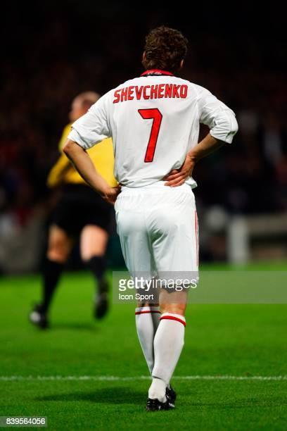 Andrei SHEVCHENKO Lyon / Milan AC 1/4 Finale Aller Champions League 2005/2006