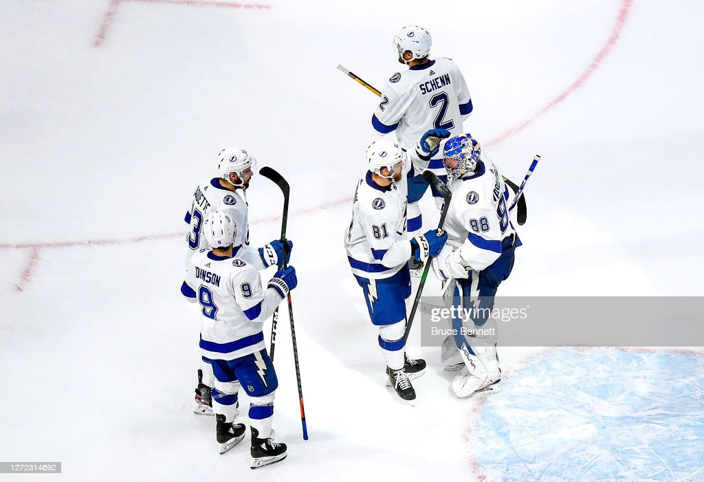 Tampa Bay Lightning v New York Islanders - Game Four : News Photo