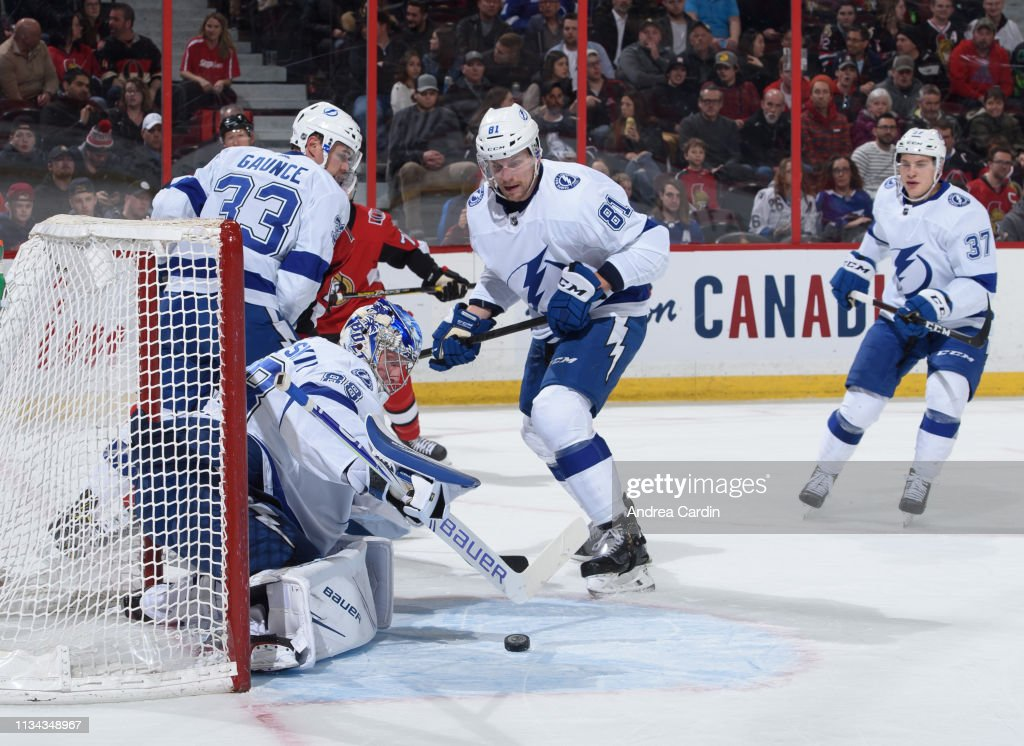 Tampa Bay Lightning v Ottawa Senators : News Photo