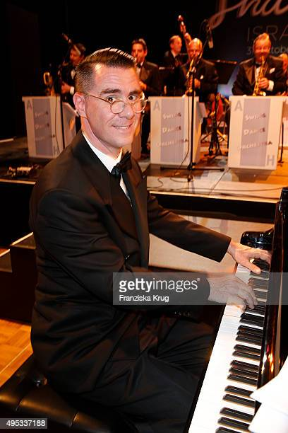 Andrej Hermlin attends the Leipzig Opera Ball 2015 on October 31 2015 in Leipzig Germany