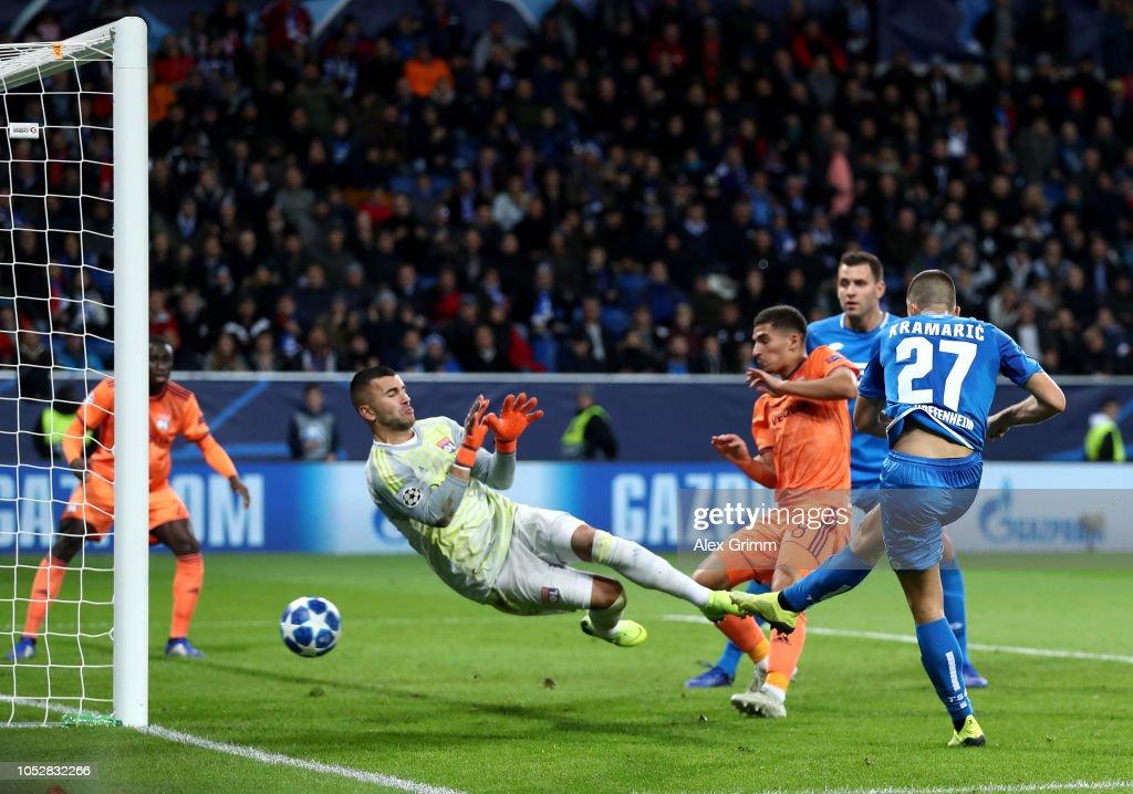 TSG 1899 Hoffenheim v Olympique Lyonnais - UEFA Champions League Group F : News Photo