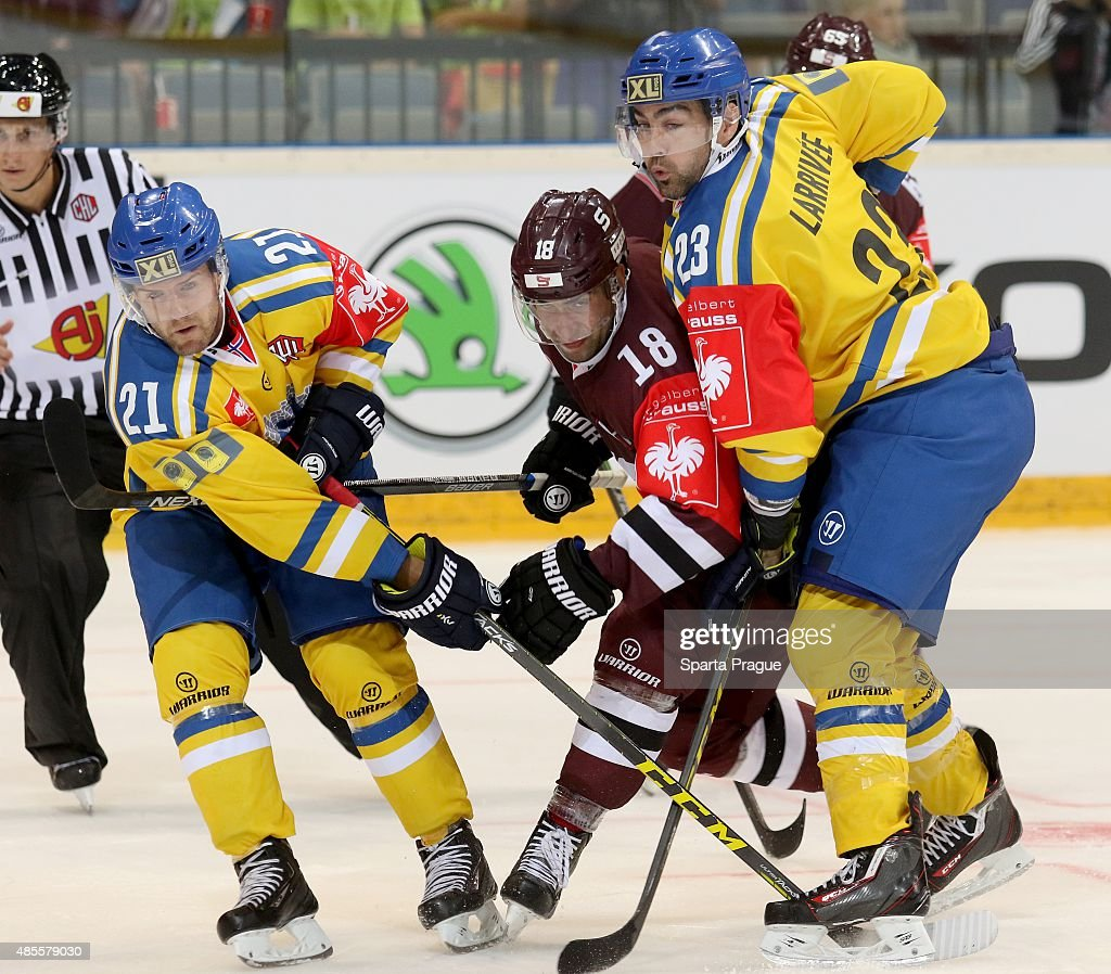 Sparta Prague v Storhamar Hamar - Champions Hockey League