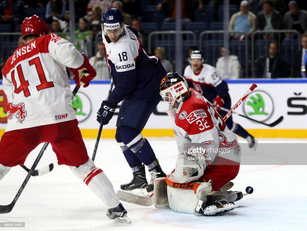 Slovakia v Denmark - 2017 IIHF Ice Hockey World Championship