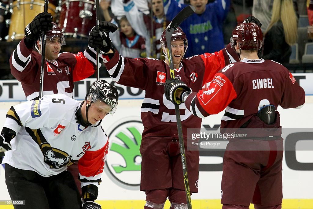 Sparta Prague  v Karpat Oulu - Champions Hockey League Round of 8